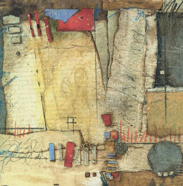 Abstract Mixed Media - For The Love If Stacking  by Laura  Lein-Svencner