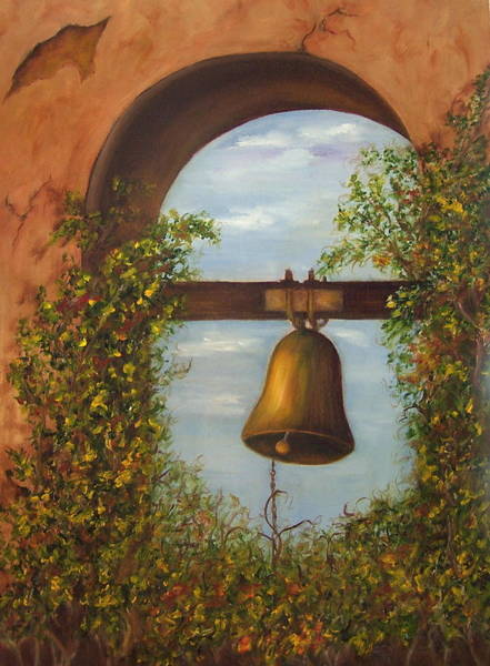Painting - For Whom The Bell Tolls Sold by Susan Dehlinger