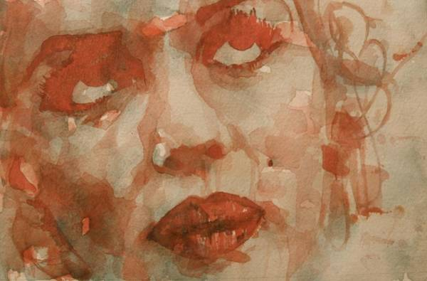 Marilyn Painting - For You The Sun Will Be Shining by Paul Lovering