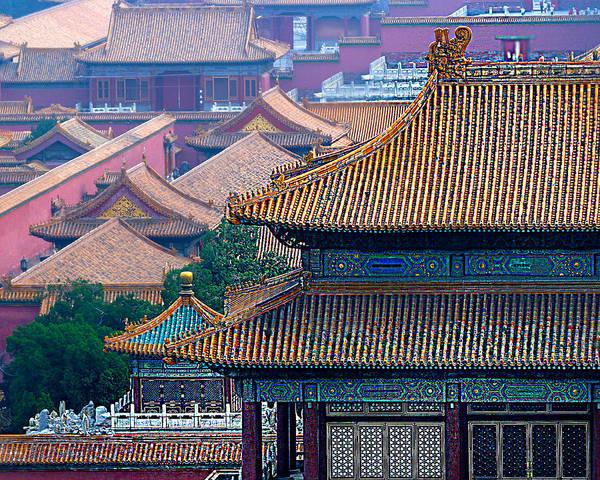 Wall Art - Photograph - Forbidden City by Frank Savarese