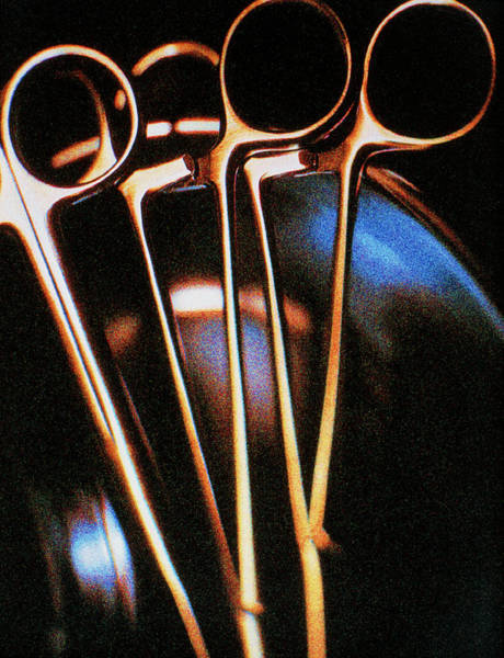 Stainless Steel Wall Art - Photograph - Forceps by Saturn Stills/science Photo Library