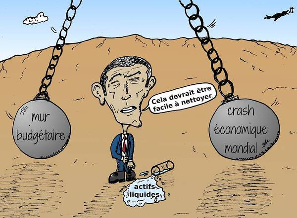 Ant Mixed Media - forces financieres destructrices et le president OBAMA by OptionsClick BlogArt