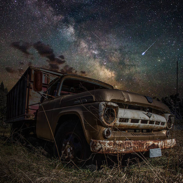 Milky Way Wall Art - Photograph - Ford by Aaron J Groen