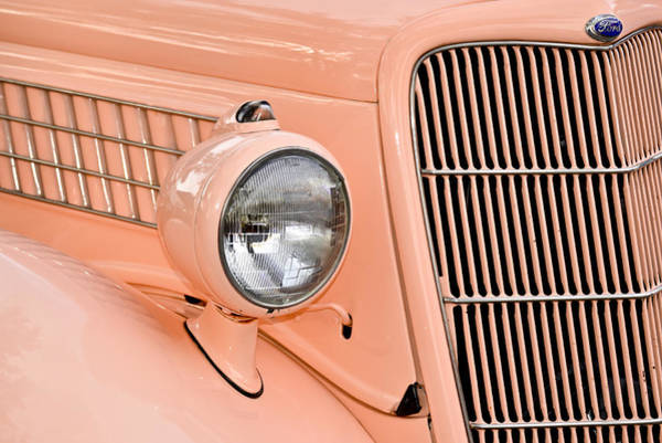Photograph - Ford Classic In Salmon by Carolyn Marshall