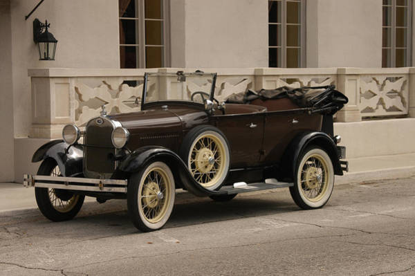 Photograph - Ford Convertible 01 by Donald Williams