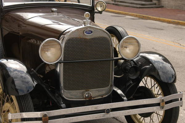 Photograph - Ford Convertible 02 by Donald Williams