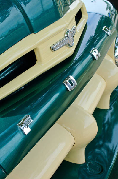 Photograph - Ford F-2 Truck Grille by Jill Reger