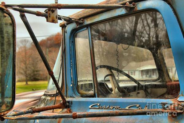 Photograph - Ford F-600 History by Adam Jewell