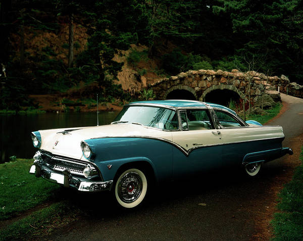 Wall Art - Photograph - Ford Fairlane Crown Victoria V8 Circa by Vintage Images