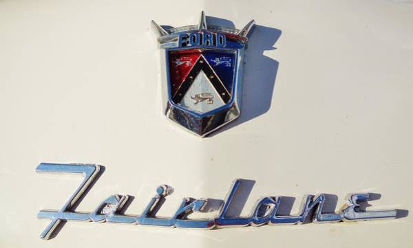 Plymouth Superbird Photograph - Ford Fairlane by Mark Lemmon