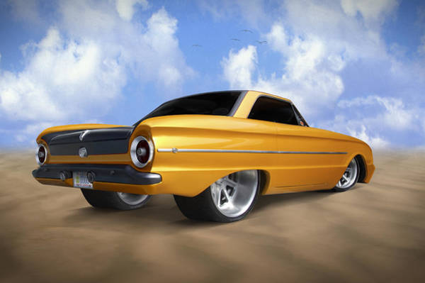 Street Rod Photograph - Ford Falcon by Mike McGlothlen