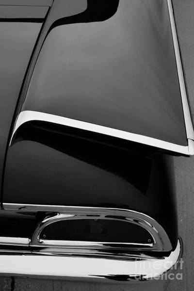Fins Photograph - Ford Fins by Paul Quinn