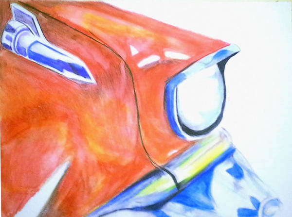 Painting - Ford Fairlane by Loretta Nash