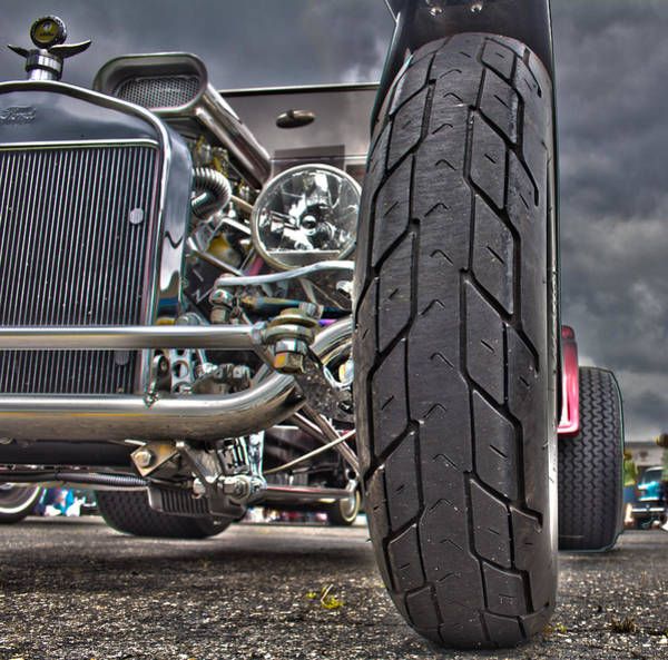 Photograph - Ford In Hdr by Jorge Perez - BlueBeardImagery