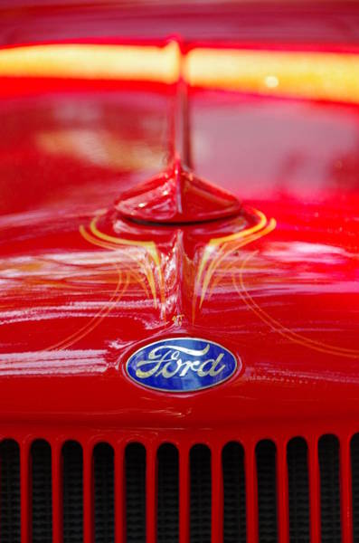 Photograph - Ford by Marilyn Wilson