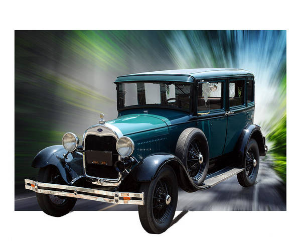 Photograph - Ford Model A 1927 by William Havle