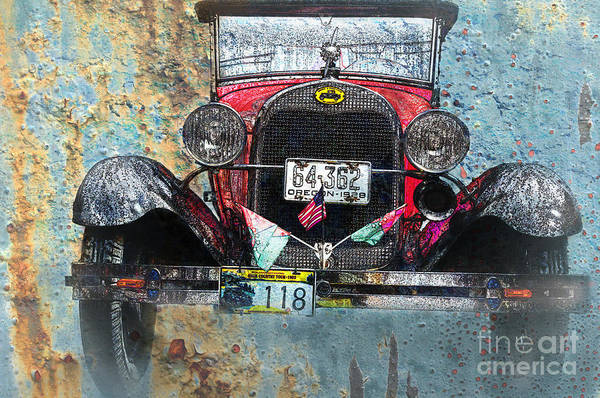 Photograph - Ford Model A 1928 Oldtimer by Heiko Koehrer-Wagner