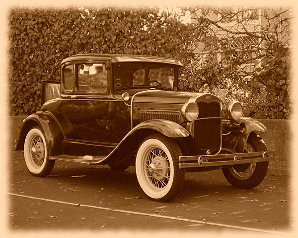 Photograph - Ford Model A by Richard Reeve