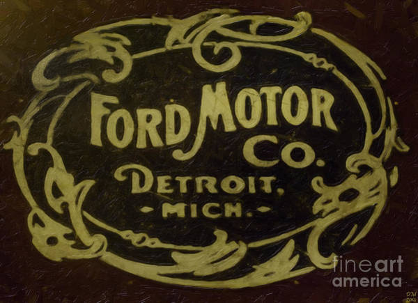 Ford Motor Company Art Print