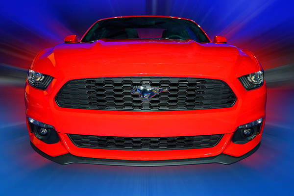 Photograph - Ford Mustang 2015 by Dragan Kudjerski