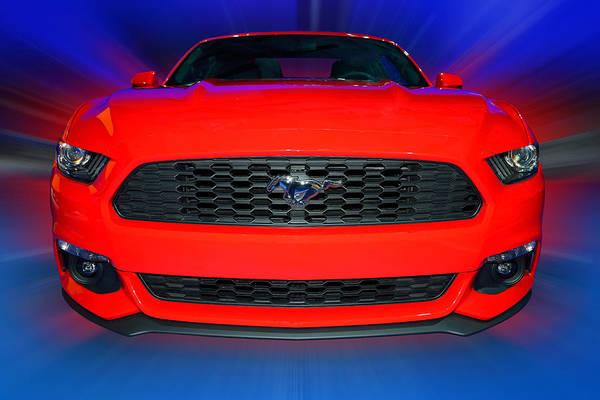 Photograph - Ford Mustang 2015 by Dragan Kudjerski