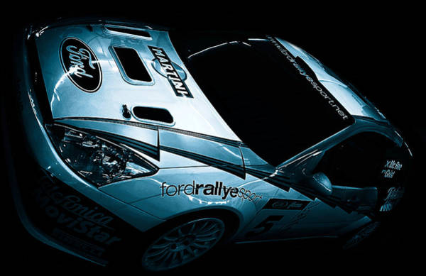 Rally Photograph - Ford Rally Car by Martin Newman