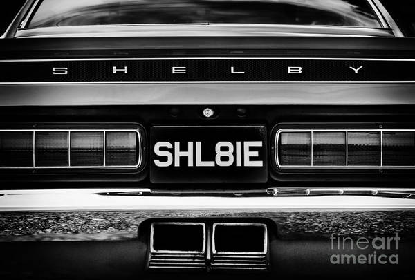 Ford Motor Company Photograph - Ford Shelby Mustang Gt350 by Tim Gainey