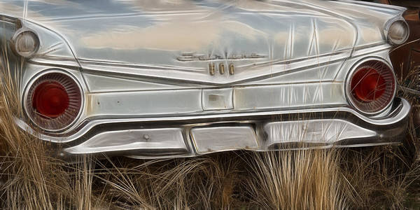 Wrecking Yard Photograph - Ford Tail Lights 2 by Wes and Dotty Weber