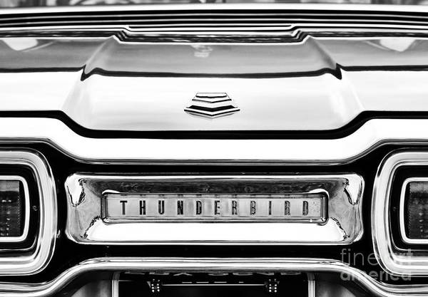 Ford Motor Company Photograph - Ford Thunderbird Abstract by Tim Gainey