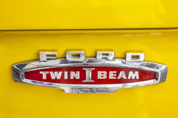 Ford Tough 1966 Truck Art Print