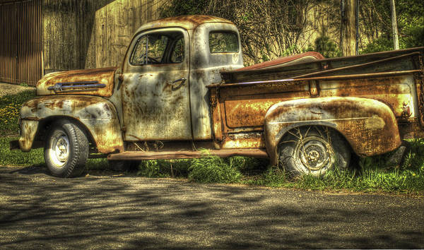 Photograph - Ford Truck by Thomas Young