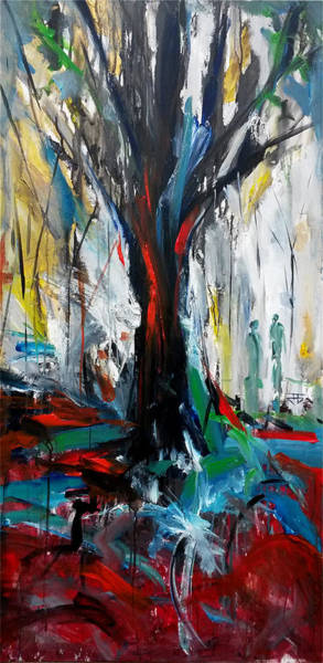 Painting - Forest Discovery by John Jr Gholson