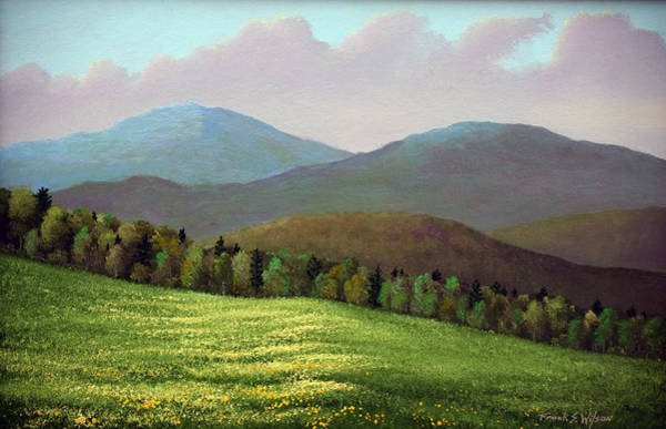 Painting - Forest Edge In Spring by Frank Wilson