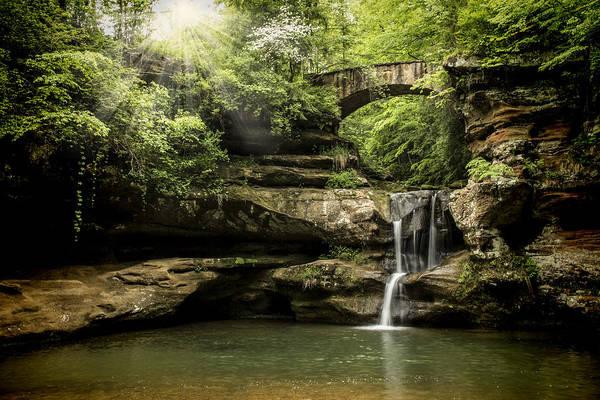 Hocking Hills Photograph - Forest Falls by Pat Eisenberger