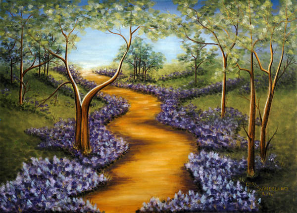 Painting - Forest Path by Lori Sutherland