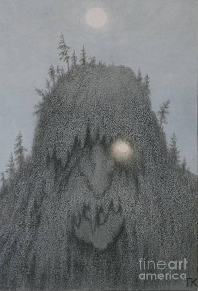 Troll Wall Art - Painting - Forest Troll by Theodor Kittelsen