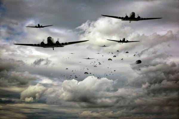 Dday Wall Art - Photograph - Forever Airborne by Jason Green