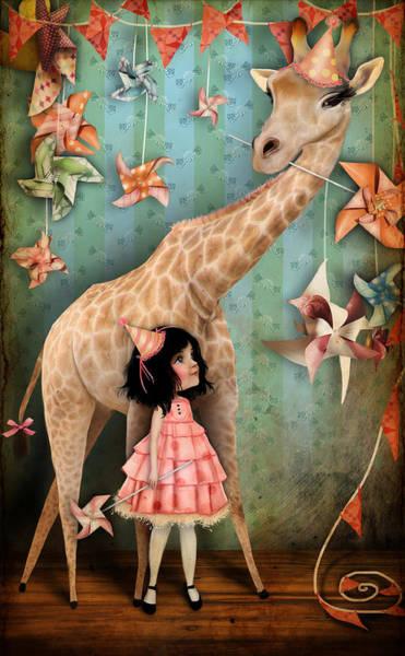 Wall Art - Digital Art - Forever Friends by Jessica Von Braun
