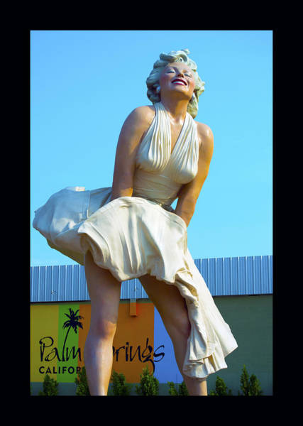 Painting - Forever Marilyn Monroe Sculpture 2 by Barbara Snyder