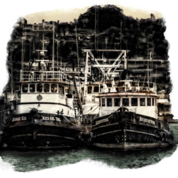 Morro Bay Digital Art - Forever Waiting by Kevin L Cole