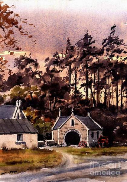 Painting - Forge In Enniskerry by Val Byrne