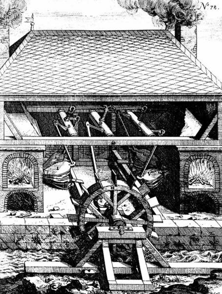 Crank Photograph - Forge With Bellows by Universal History Archive/uig