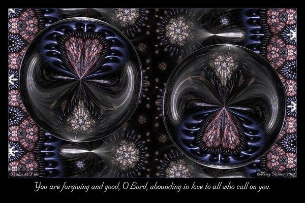 Digital Art - Forgiving And Good by Missy Gainer