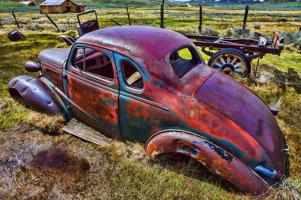 Wall Art - Photograph - Forgoten Auto by Garry Gay