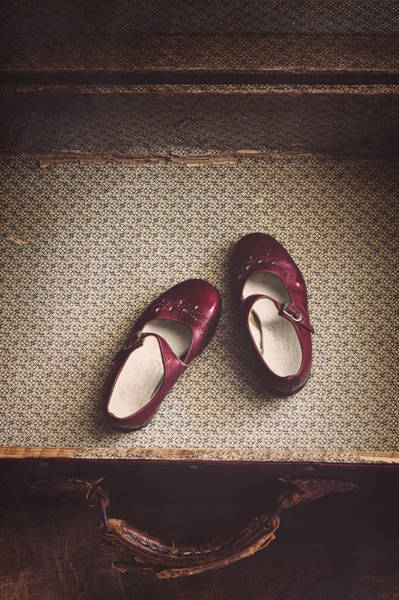 Wooden Shoe Photograph - Forgotten by Amy Weiss
