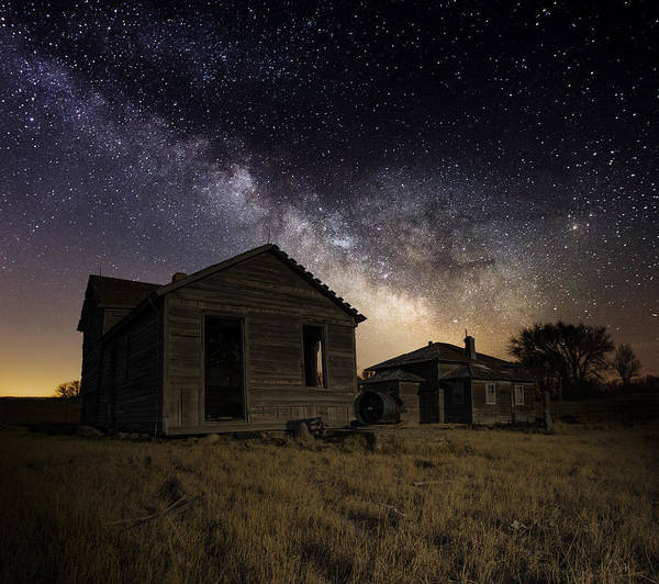 Milky Way Wall Art - Photograph - Forgotten By The Cosmos by Aaron J Groen
