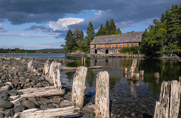 Wall Art - Photograph - Forgotten Downeast Smokehouse by Marty Saccone