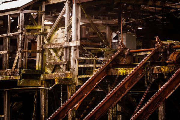 Photograph - Forgotten Factory by Melinda Ledsome