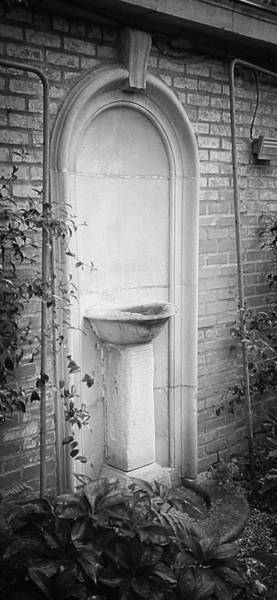 Photograph - Forgotten Fountain by HW Kateley