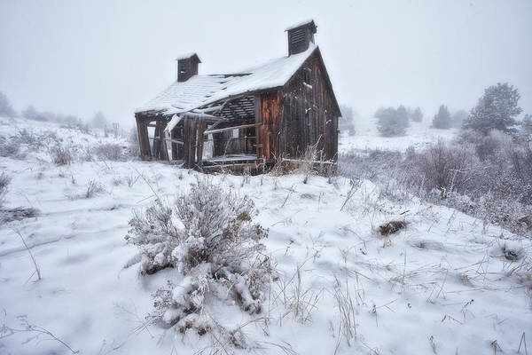 Ghost Town Photograph - Forgotten In Time by Darren  White